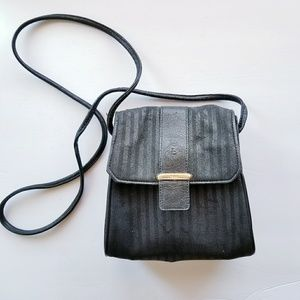 Vintage FENDI Black Crossbody Bag